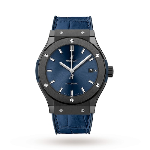 Hublot Classic Fusion Ceramic Blue 45mm Mens Watch