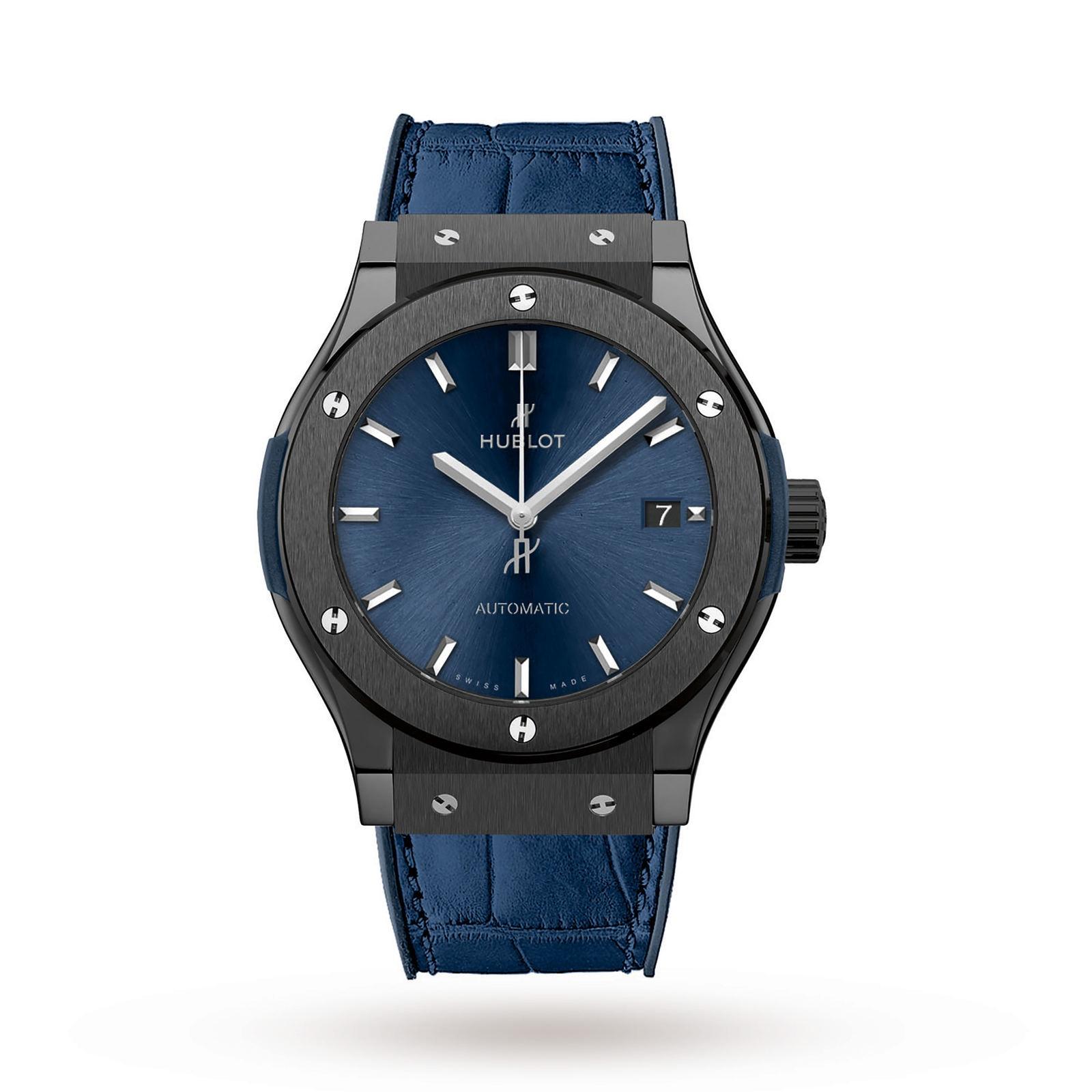 Hublot Hublot Classic Fusion Ceramic Blue 45mm Mens Watch