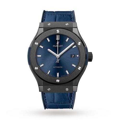 Hublot Classic Fusion Ceramic Blue Chronograph 45mm Mens Watch