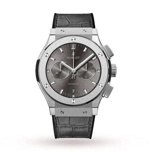 Hublot Classic Fusion Racing Grey Chronograph Titanium 42mm Mens Watch