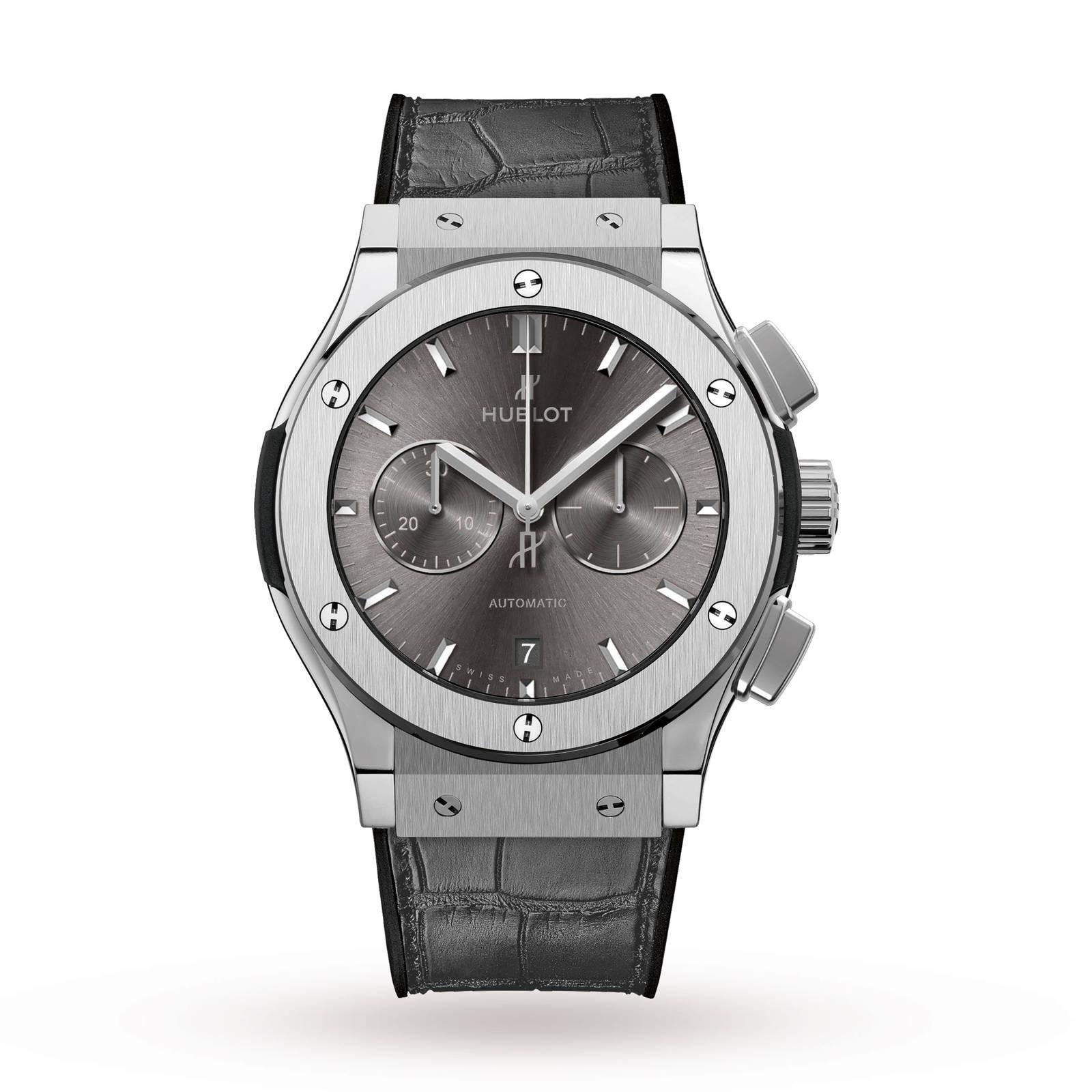 Hublot Hublot Classic Fusion Racing Grey Chronograph Titanium 42mm Mens Watch