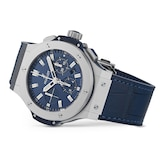 Hublot Big Bang Steel Blue Chronograph 44mm
