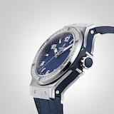 Hublot Big Bang Steel Blue Diamonds 38mm