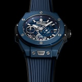 Hublot Big Bang MECA-10 Ceramic Blue Chronograph 45mm