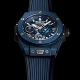 Hublot Big Bang MECA-10 Ceramic Blue Chronograph 45mm
