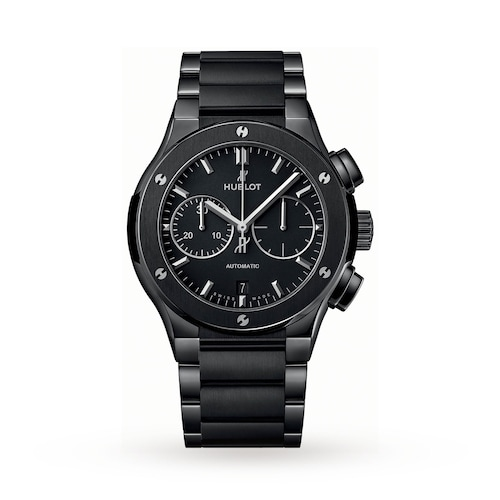 Hublot Classic Fusion Chronograph Black Magic 45mm Mens Watch