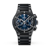 Hublot Classic Fusion Chronograph Ceramic Blue 45mm Mens Watch