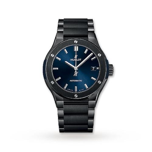 Hublot Classic Fusion Ceramic Blue 45mm Mens Watch