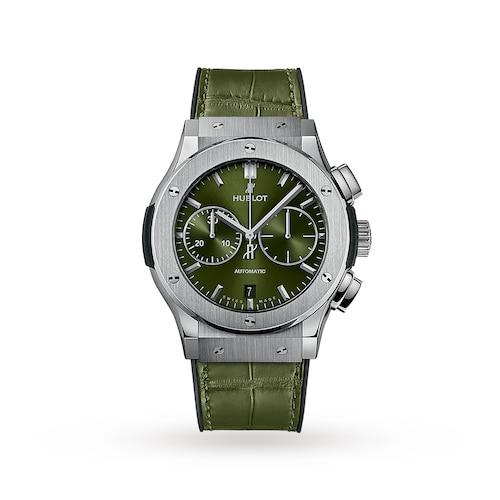 Hublot Classic Fusion Chronograph Titanium Green 45mm