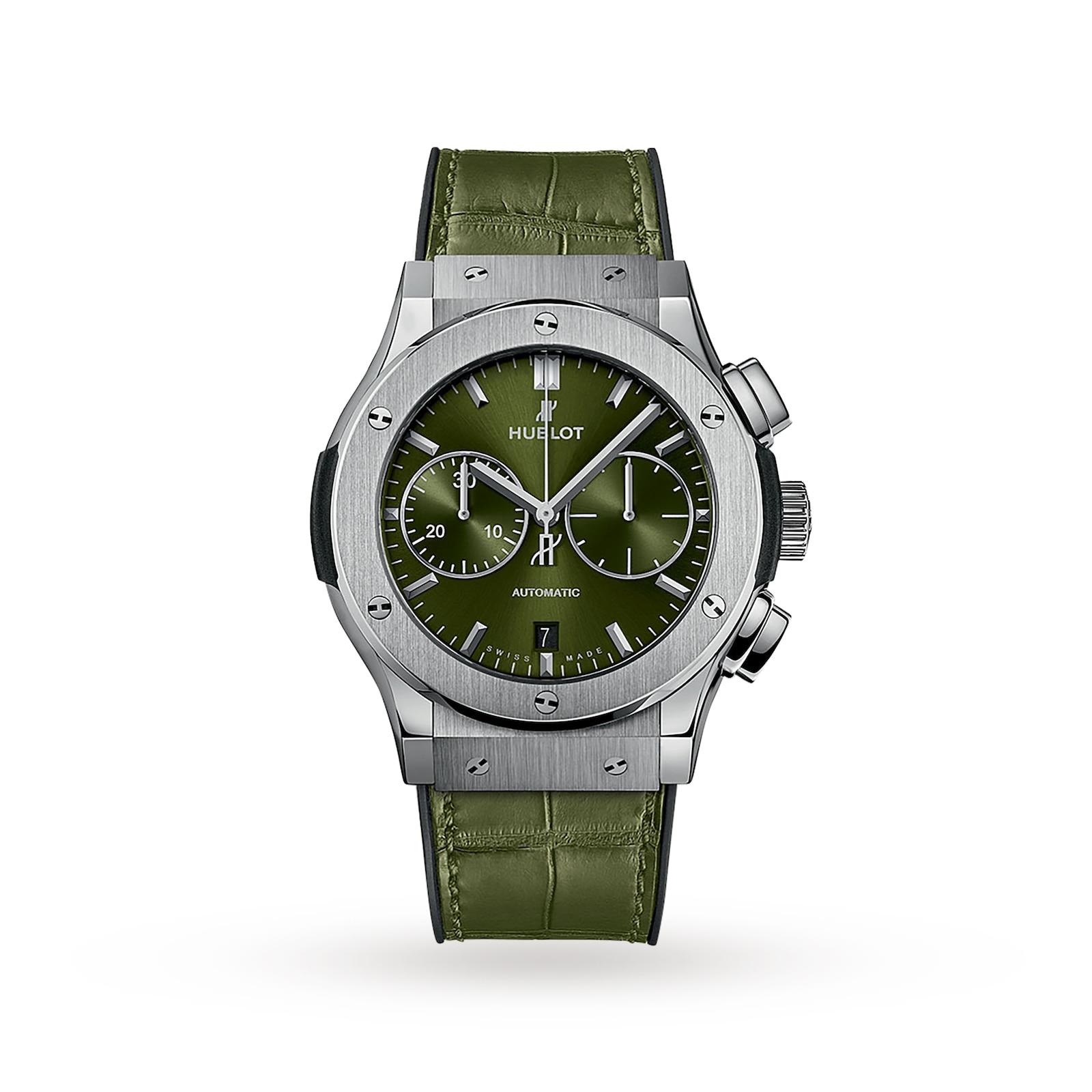 Hublot Hublot Classic Fusion Chronograph Titanium Green 45mm