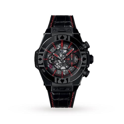 Hublot Big Bang UNICO World Poker Tour All Black 45mm Mens Watch