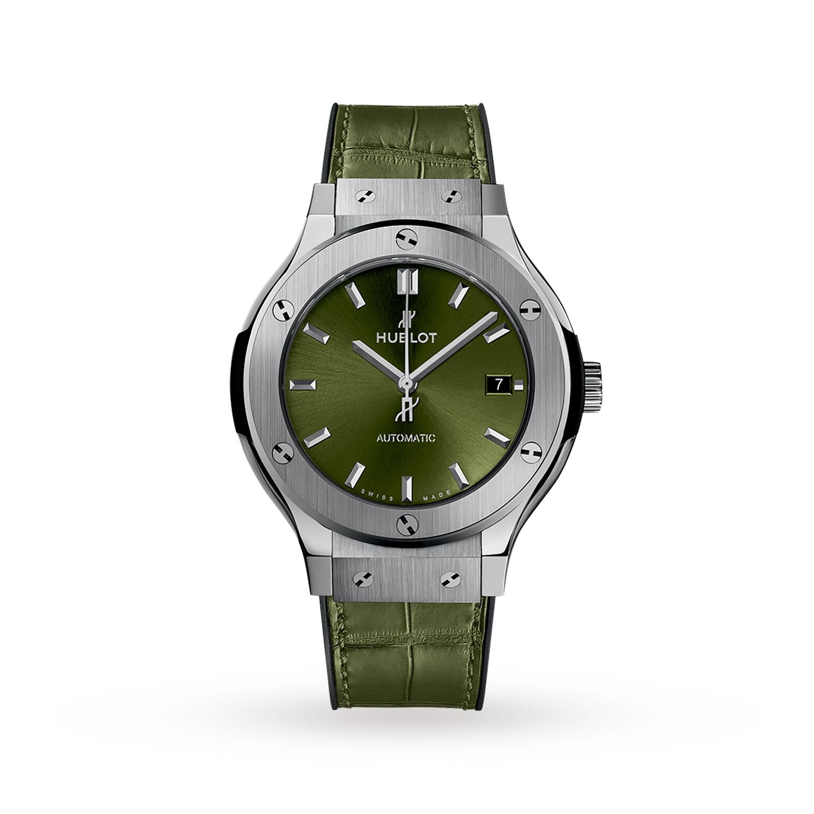 Hublot Hublot Classic Fusion Titanium Green 38mm Ladies Watch