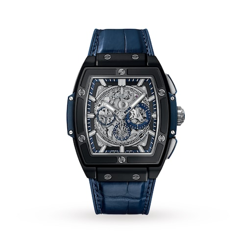 Hublot Spirit of Big Bang Ceramic Blue 45mm Mens Watch