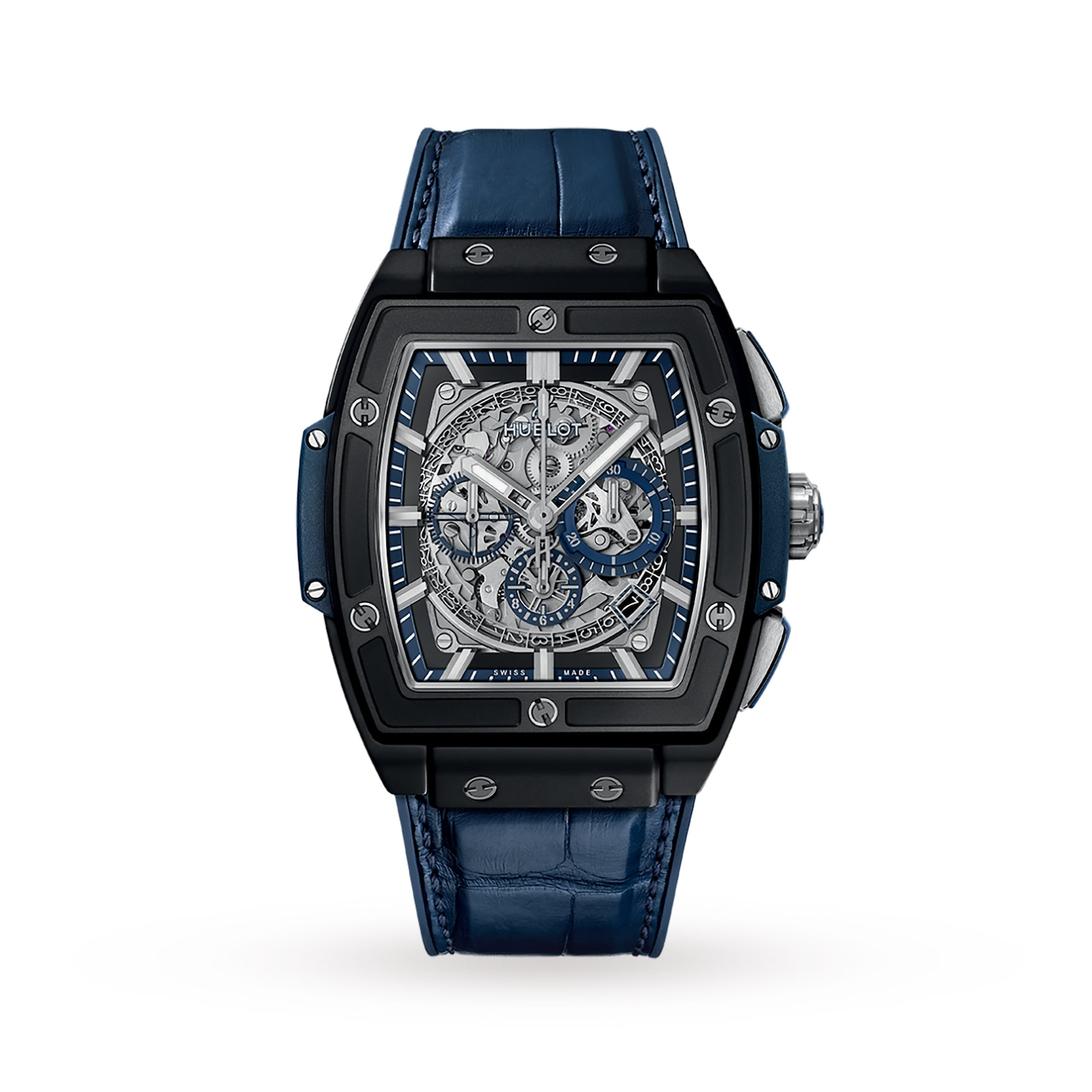 Hublot Hublot Spirit of Big Bang Ceramic Blue 45mm Mens Watch