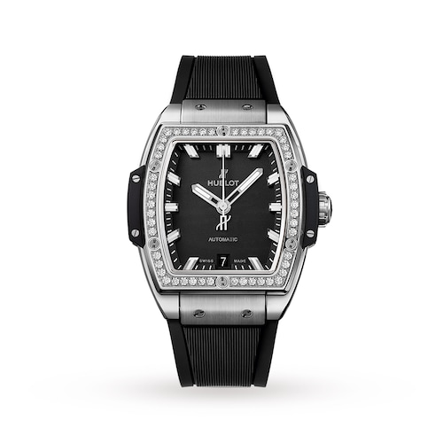 Hublot Spirit of Big Bang Titanium Diamonds 39mm Ladies Watch