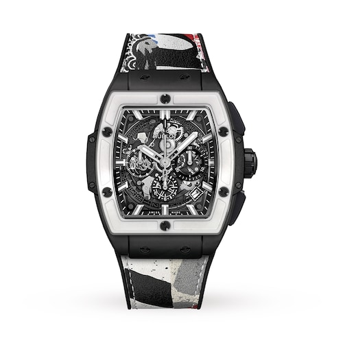 Hublot Spirit of Big Bang West Coast Ceramic Black White 42mm Mens Watch