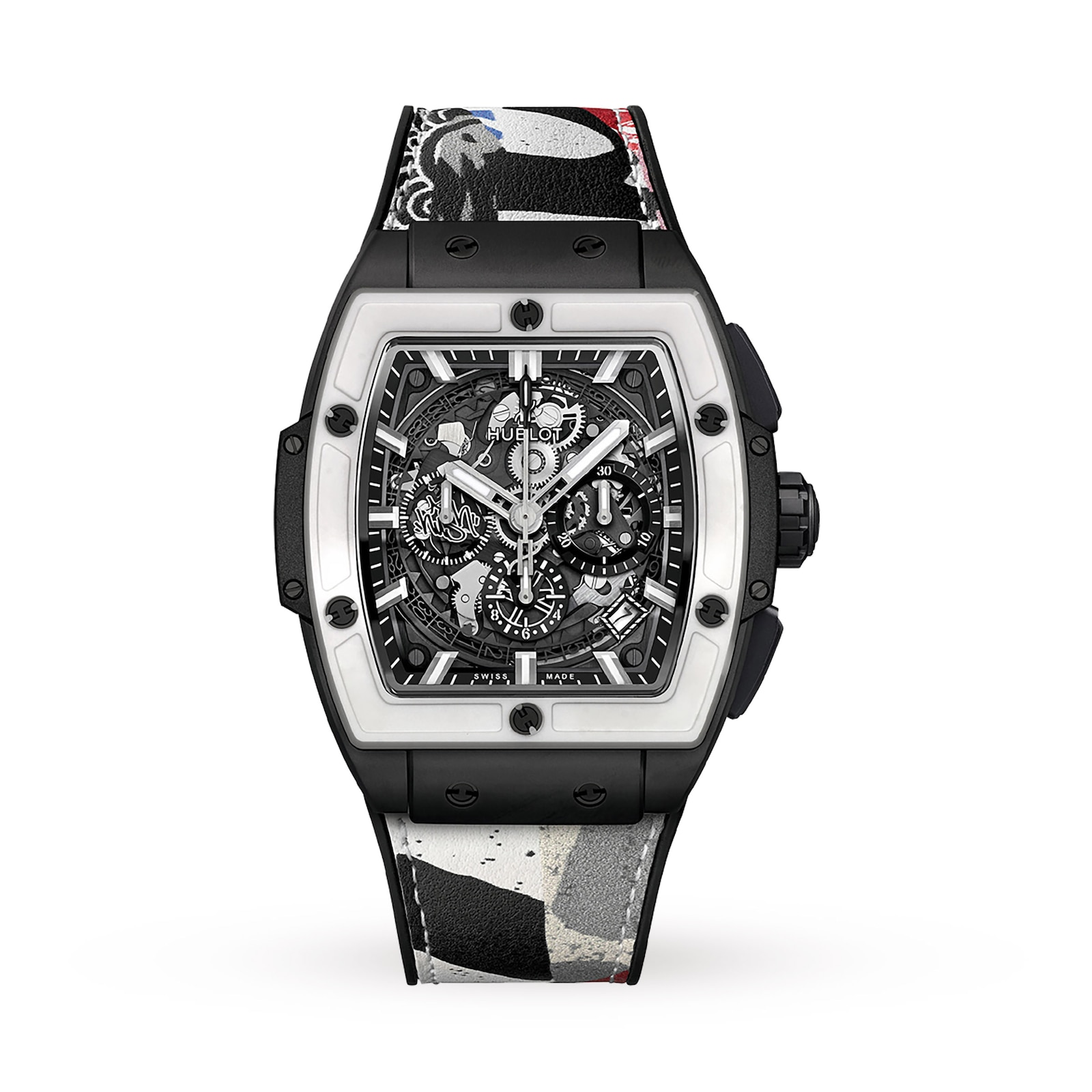 Hublot Hublot Spirit of Big Bang West Coast Ceramic Black White 42mm Mens Watch