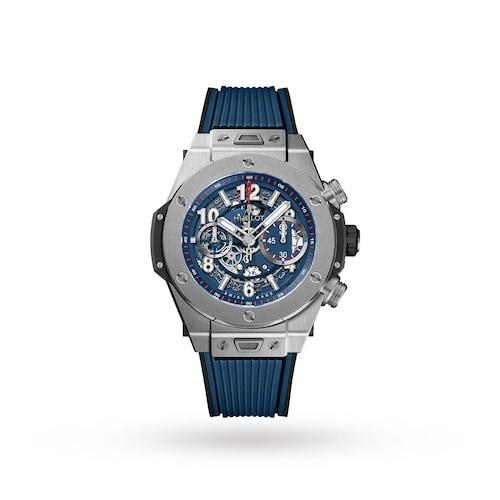 Hublot Big Bang UNICO Titanium Blue 45mm Mens Watch