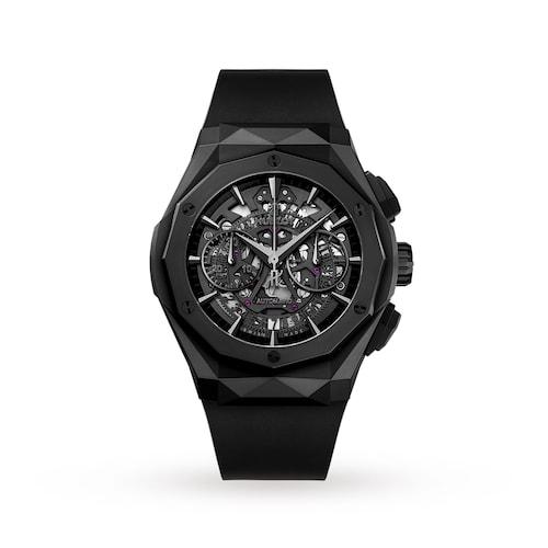 Hublot Classic Fusion Aerofusion Chronograph Orlinski All Black 45mm Mens Watch