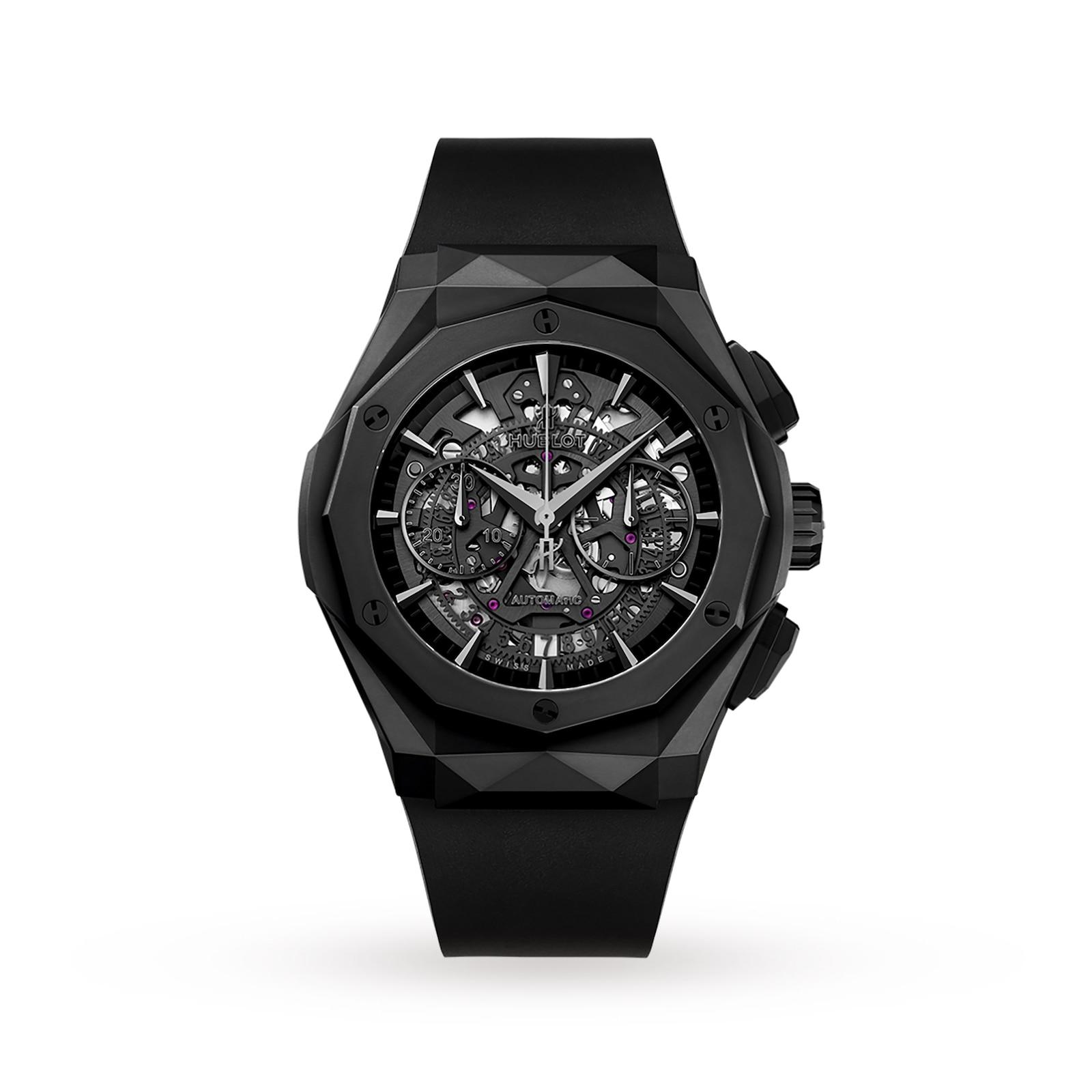 Hublot Hublot Classic Fusion Aerofusion Chronograph Orlinski All Black 45mm Mens Watch