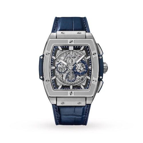 Hublot Spirit of Big Bang Titanium Blue 42mm Mens Watch