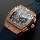 Hublot Spirit of Big Bang King Gold Blue Chronograph 42mm