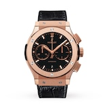 Hublot Classic Fusion Chronograph King Gold Pave 45mm Mens Watch