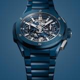 Hublot Big Bang Integral Blue Ceramic 42mm Mens Watch