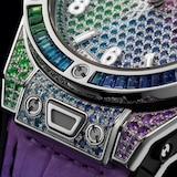 Hublot Big Bang Unico Titanium Rainbow 39mm Mens Watch