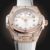 Hublot Big Bang One Click King Gold White Pavé 33mm Watch