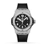 Hublot Big Bang One Click Steel Pavé 33mm Ladies Watch