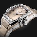 Hublot Spirit Of Big Bang Beige Ceramic Titanium Diamonds 39mm