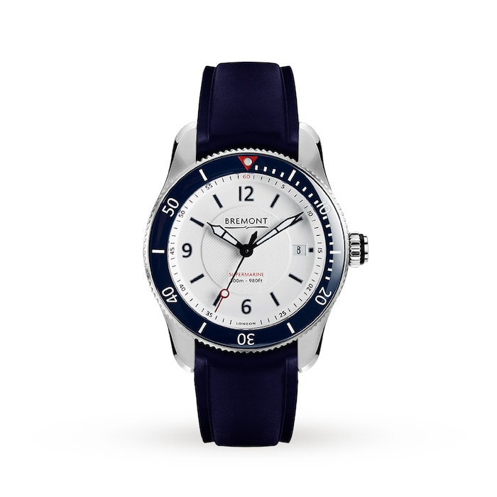 Bremont Supermarine S300 40mm Mens Watch S300 White Mappin And Webb