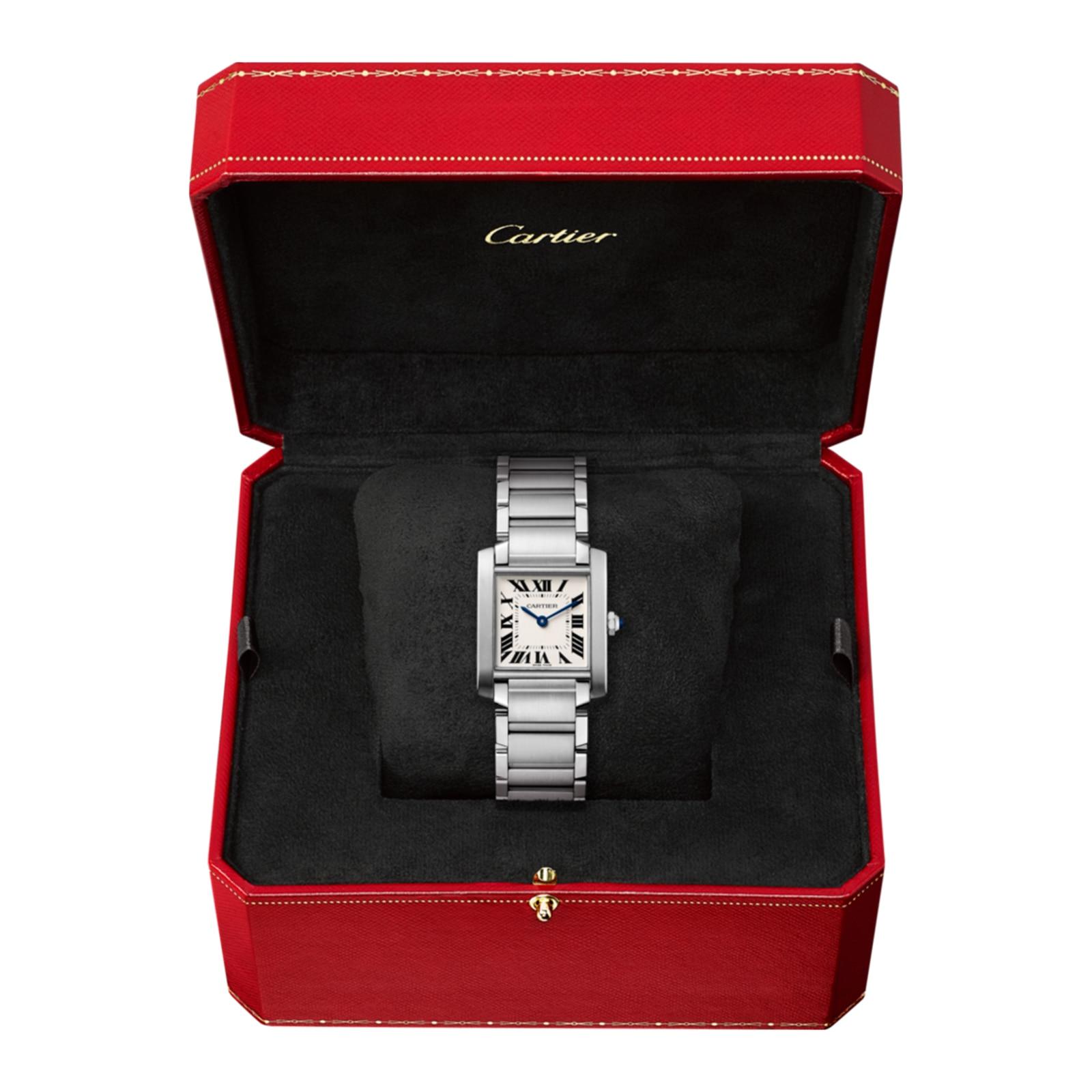 Cartier Tank Française watch, Medium model, steel