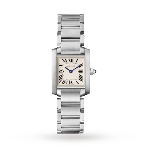 Tank Française watch, Small model, steel