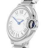 Cartier Ballon Bleu De Cartier Watch 28mm, Quartz Movement, Steel