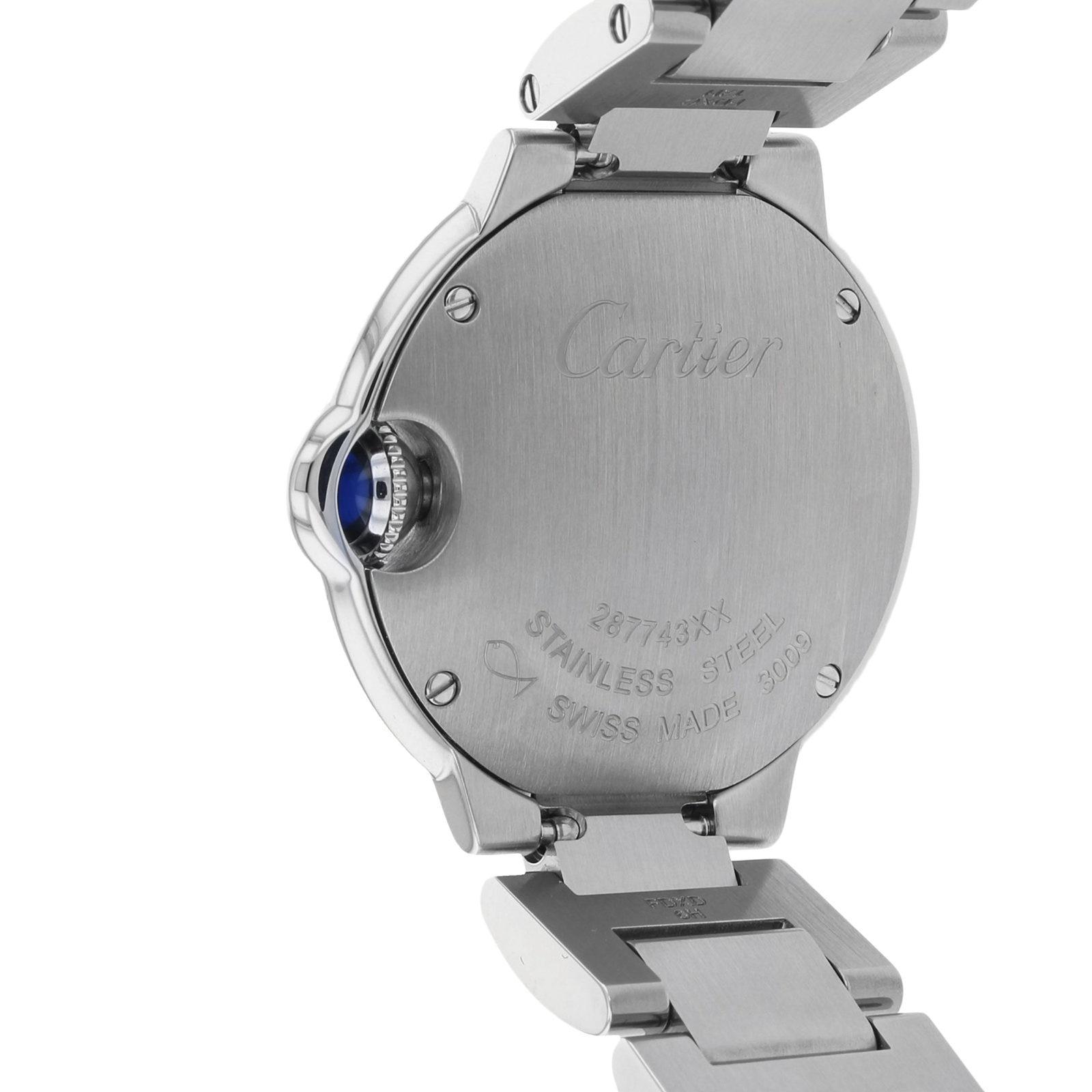 Cartier Ballon Bleu de Cartier watch 28 mm, steel
