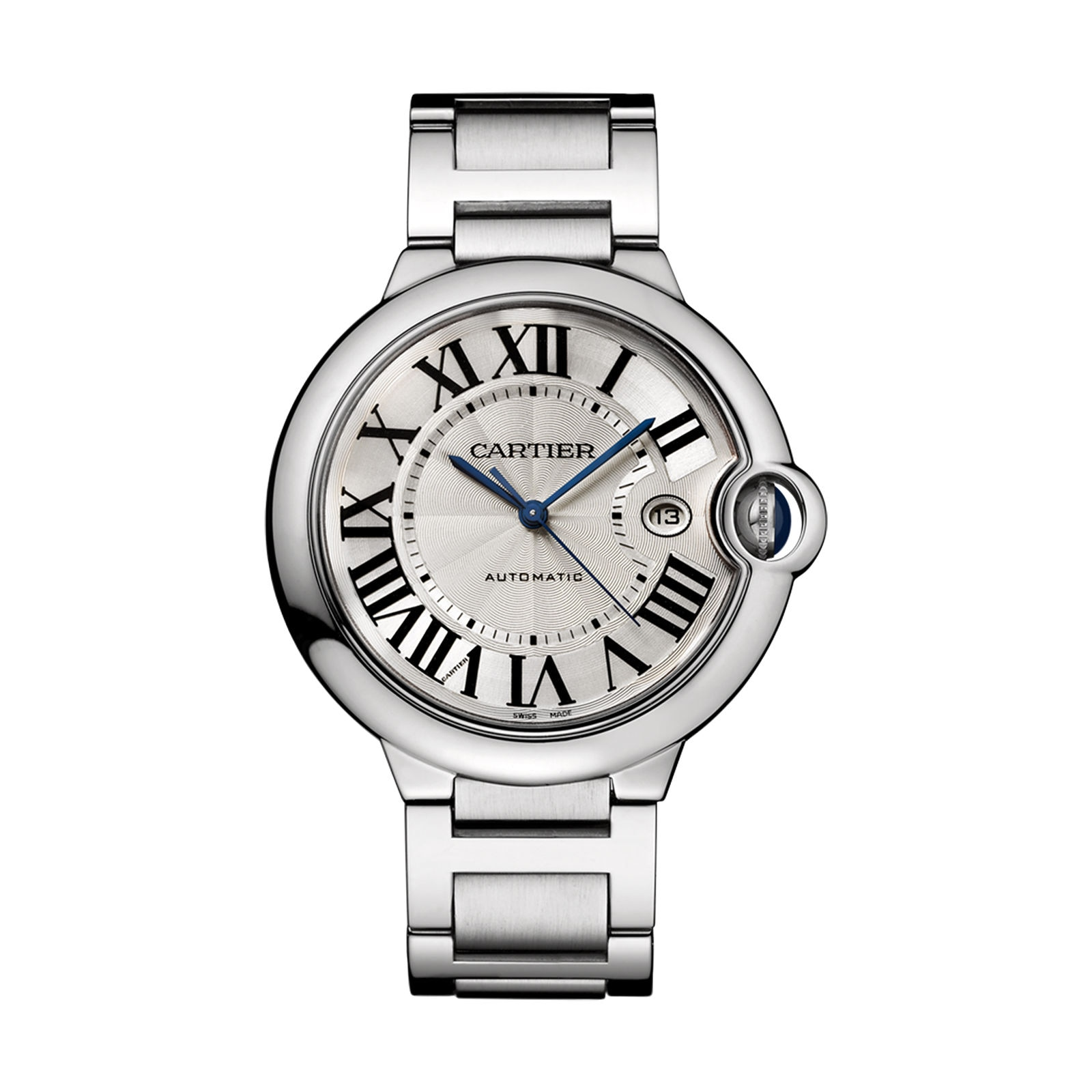 Cartier Ballon Bleu de Cartier watch 42 mm, steel