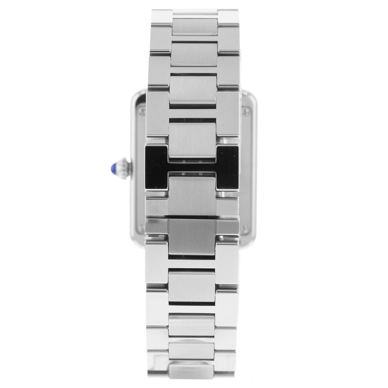 Cartier Tank Solo watch, Small model, steel