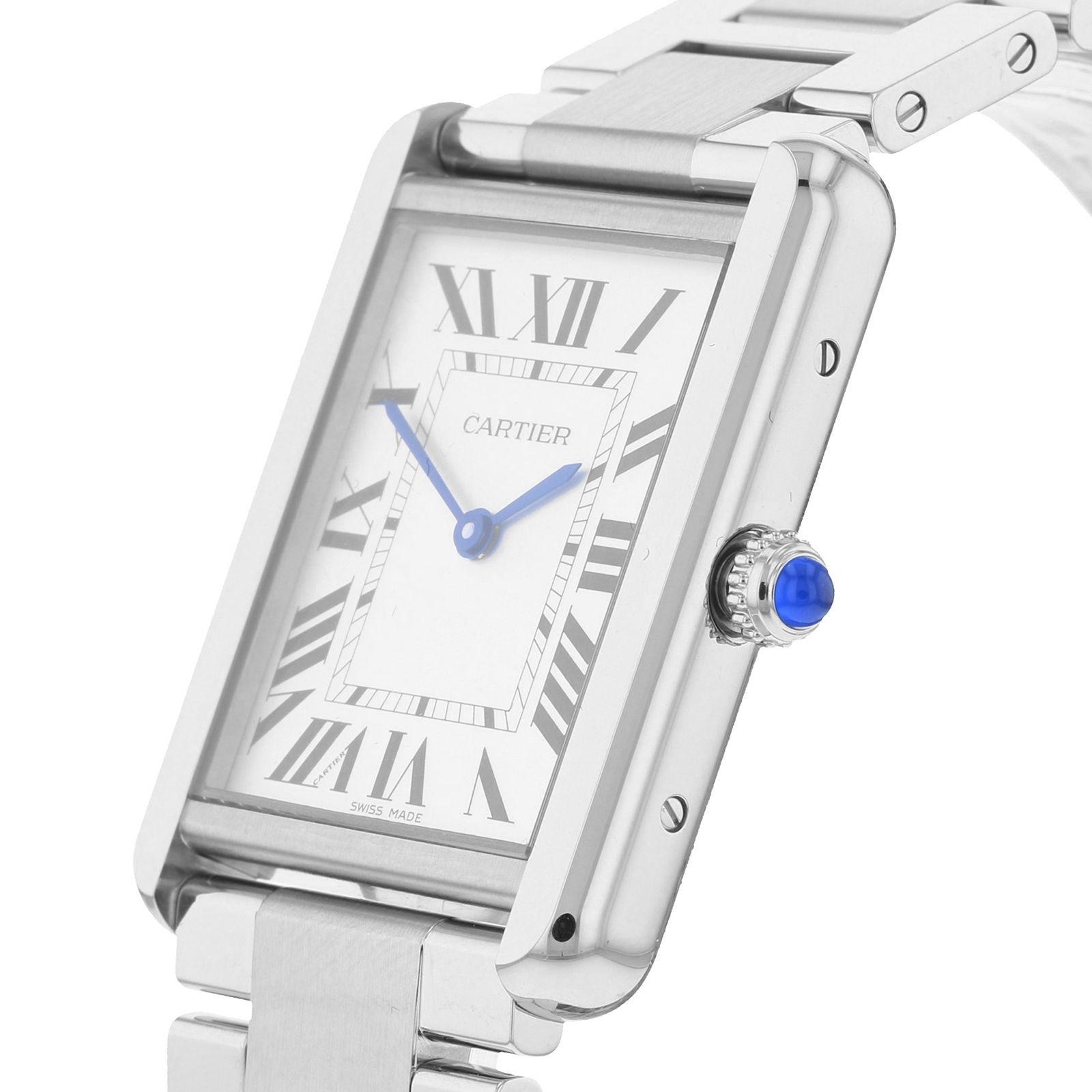 Cartier Tank Solo watch, Large model, steel