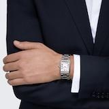 Cartier Tank Solo Watch Large Model, Quartz Movement, Steel