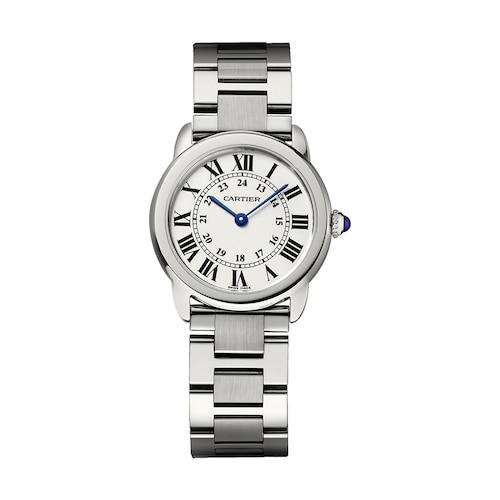Ronde Solo de Cartier watch, 30 mm, steel