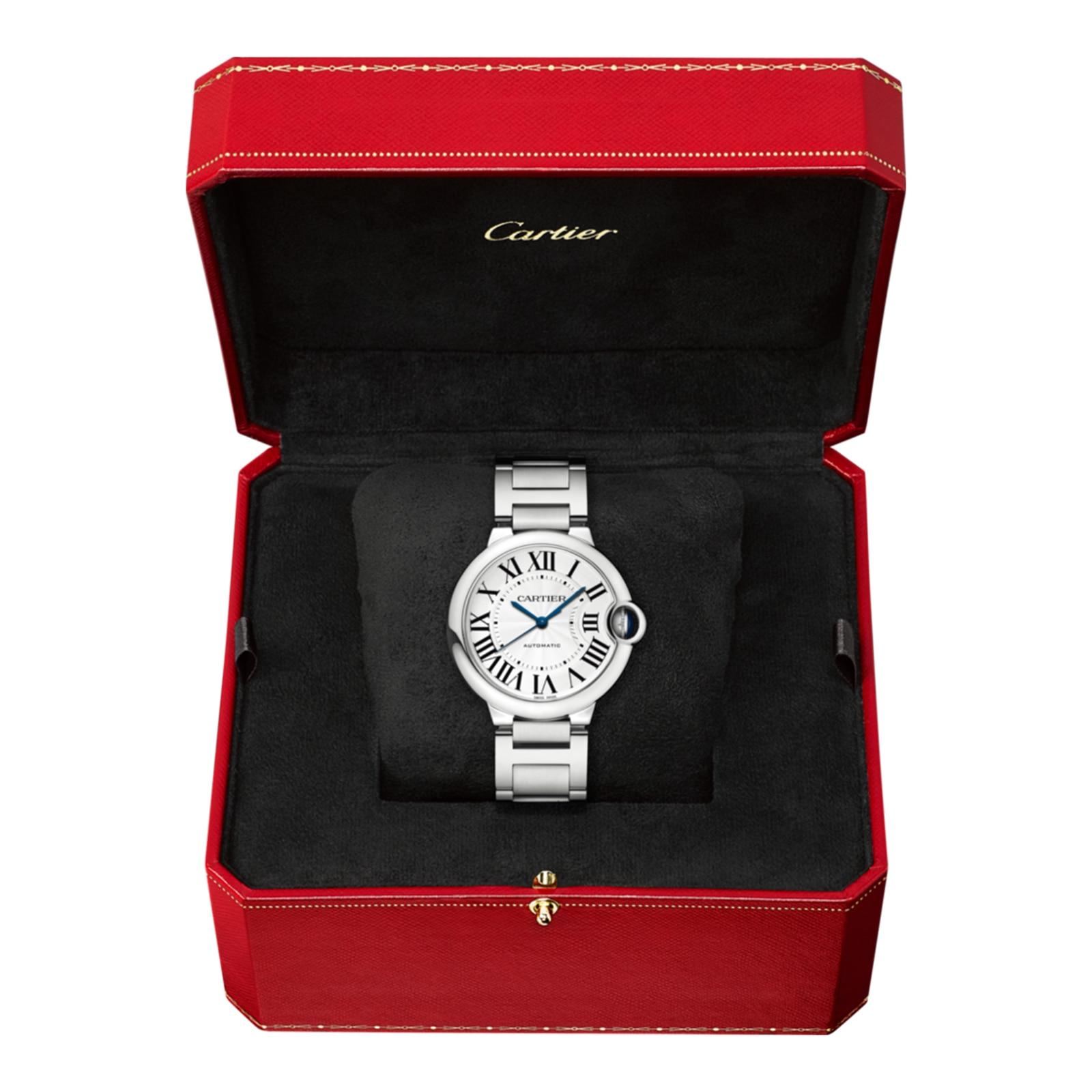 Cartier Ballon Bleu de Cartier watch 36 mm, steel