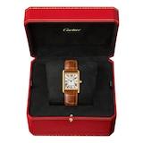 Cartier Tank Louis Cartier Watch Large Model, Quartz Movement, Yellow Gold, Leather