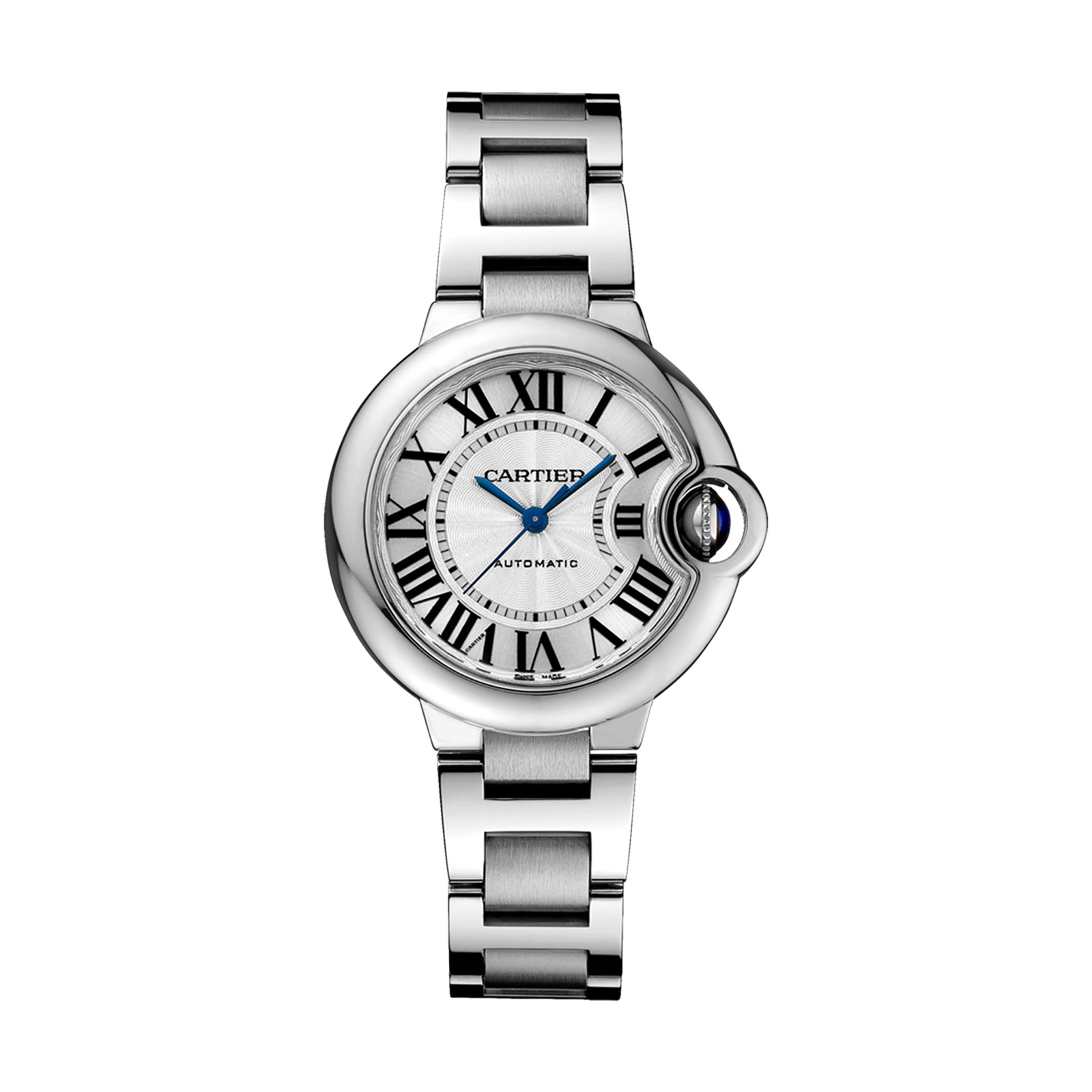 Cartier Ballon Bleu de Cartier watch, 33 mm, steel