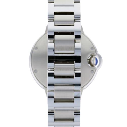 Ballon Bleu de Cartier watch, 33 mm, steel