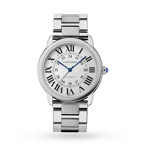 Ronde Solo de Cartier watch, 42 mm, steel