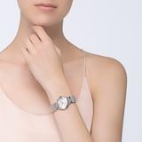 Cartier Ballon Bleu De Cartier Watch 28mm, Quartz Movement, Steel, Diamonds