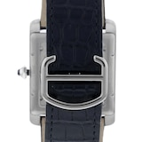 Cartier Tank MC Watch Large Model, Automatic Movement, Steel, Leather