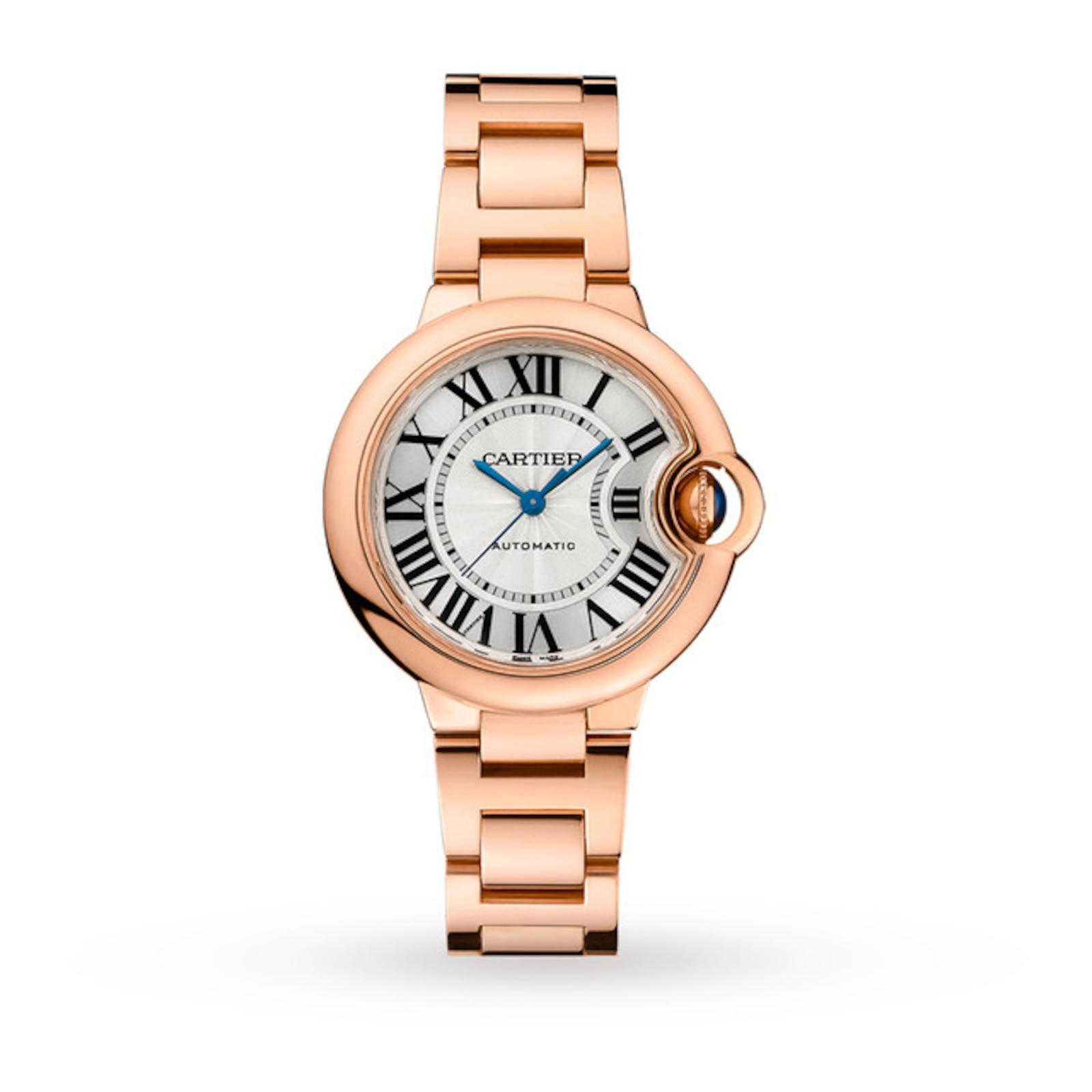Cartier Ballon Bleu de Cartier watch 33 mm, rose gold